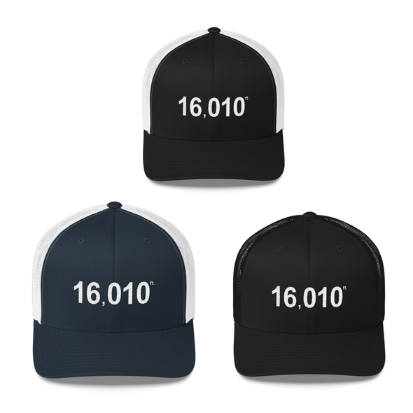 Trucker hat | 16010 ft | snap back
