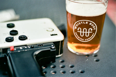 Angel M Rodriguez' camera and beer
