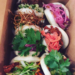 Bring your own food. Gua-Bao buns