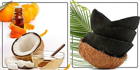 Coconut Oil and Orange Seed Oil