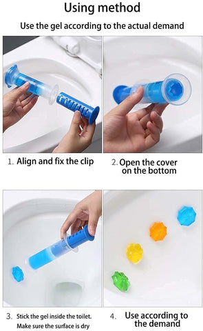 how to use scrubbing bubbles toilet cleaning stamp