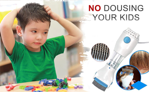 lice comb with lice