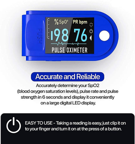 pulse oximeter normal reading