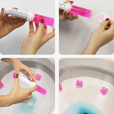scrubbing bubbles fresh gel toilet cleaning stamp refills