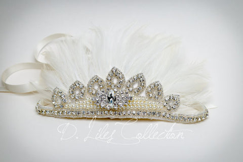Feather Crown Headband