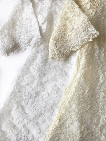Chloe White Lace Dress