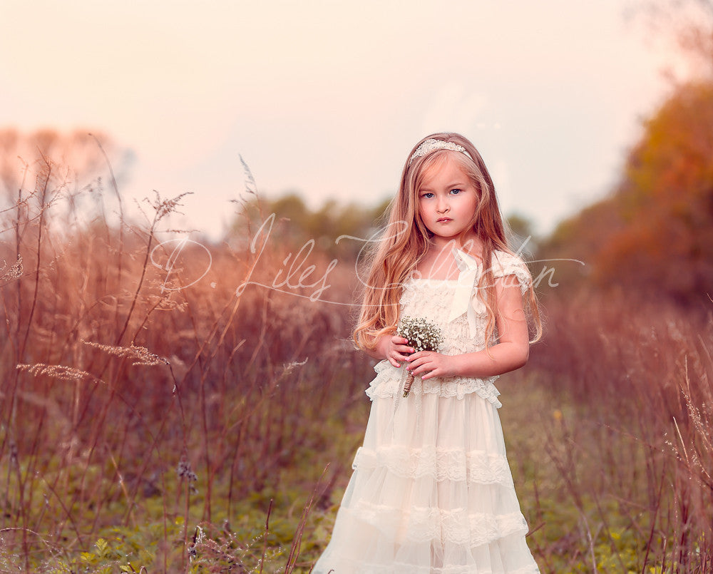 vintage flower girl dresses, flower girl dress, baptism dresses, christening dress, boho dress, ivory flower girl dress, bridesmaid dress, blush flower girl dress, boho wedding, rustic wedding, toddler dress, flower girl dress, lace flower girl dress