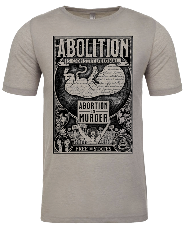 Abolition is Constitutional T-Shirt