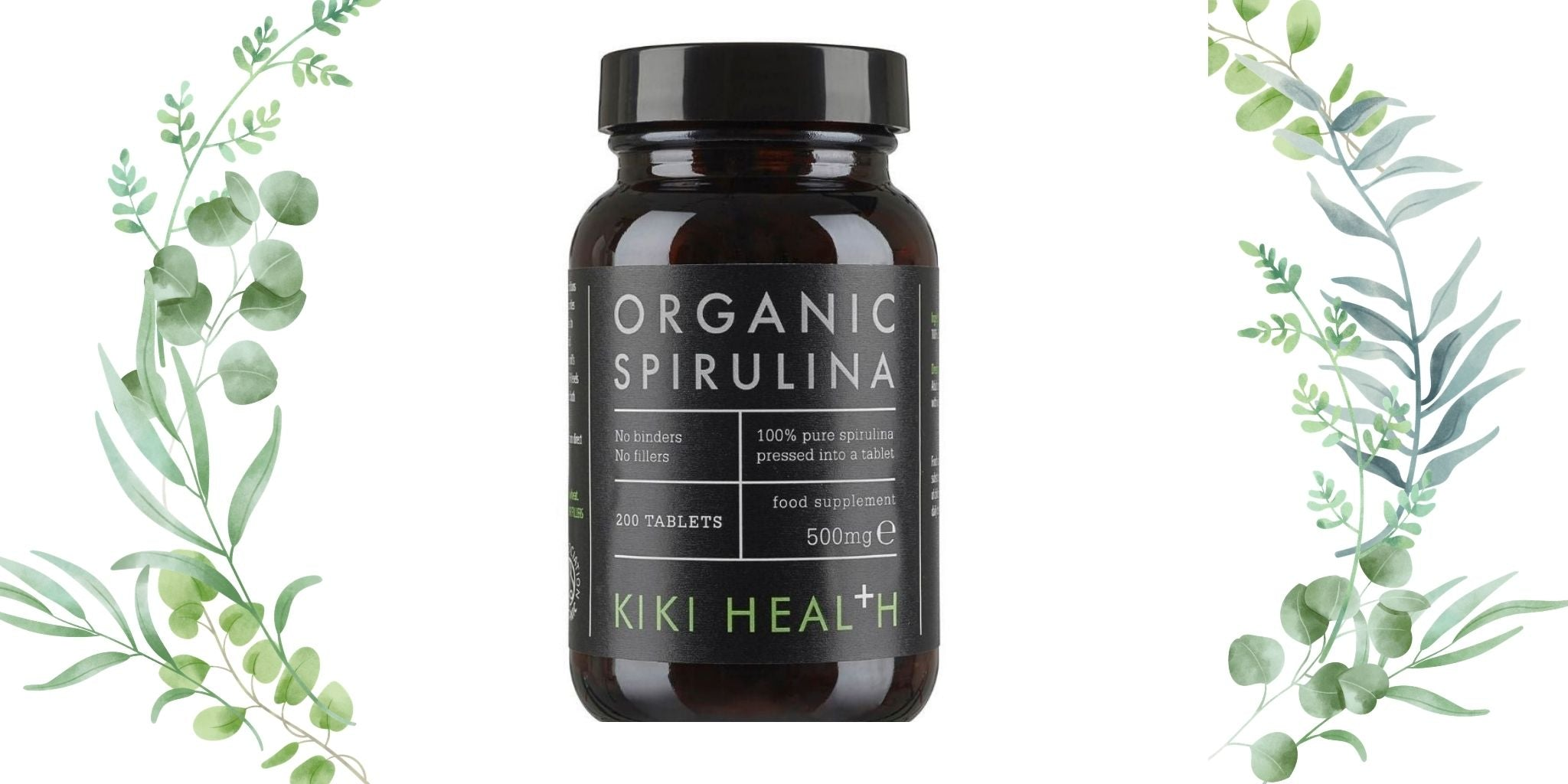 Organic Spirulina tablets in the UK and its benefits