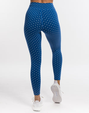 Echt Tempo Dot Leggings - Blue
