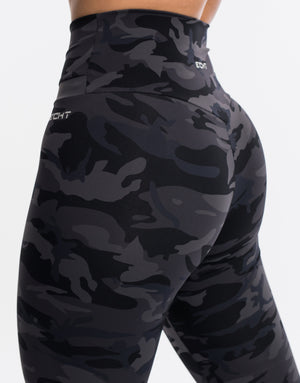 Echt Storm Leggings - Black Camo