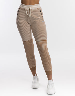 Ultra Knit Joggers - Cream