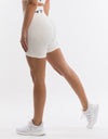 Arise Scrunch Shorts - White
