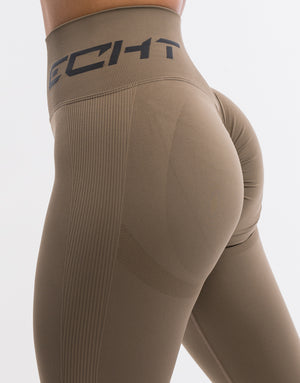 Arise Scrunch Leggings - Taupe