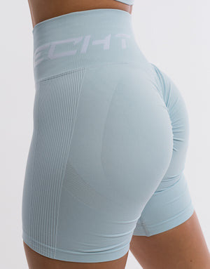 Arise Scrunch Shorts - Blue
