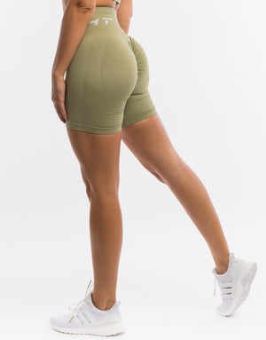 Arise Scrunch Shorts - Khaki
