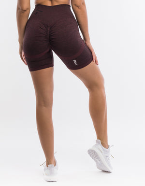 Arise Scrunch Shorts - Berry
