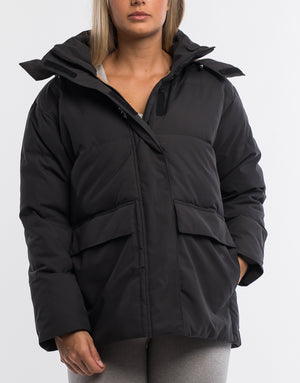 Ghost Down Jacket - Black