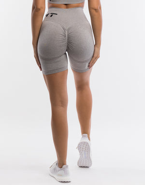 Arise Scrunch Shorts - Grey