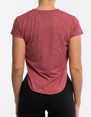 Echt Flex Tee - Red