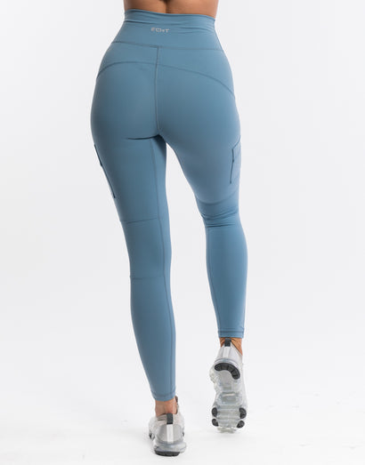 Echt Jagged Leggings - Blue Heaven