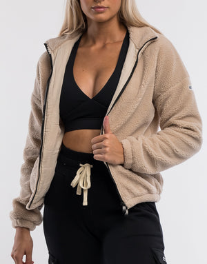 Sherpa Jacket - Tan