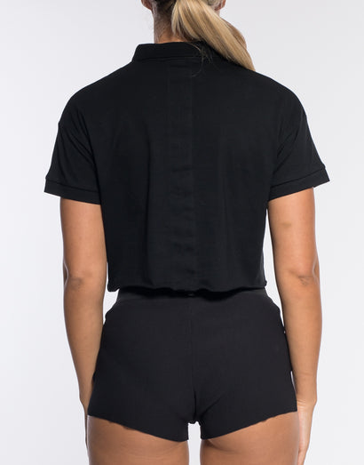 Court Polo - Black