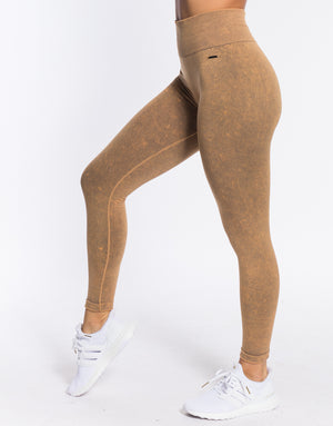 Lapse Leggings - Caper Yellow
