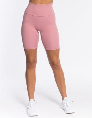 Echt Range Bike Shorts - Dusty Pink