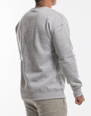 Echt Storm Jumper - Heather Grey