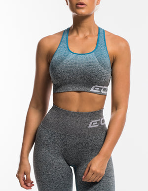 Arise Ombre Sportsbra - Charcoal/Blue