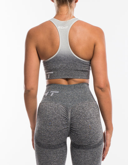 Arise Ombre Sportsbra - Charcoal/Light Grey
