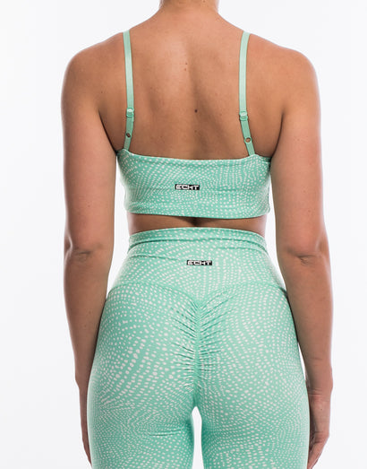 Echt Rhythm Sportsbra - Cabbage Green