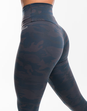 Echt Storm Leggings - Blue Camo
