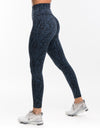 Echt Essentia Scrunch Leggings - Blue Zebra