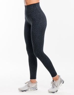 Echt Essentia Scrunch Leggings - Blue Dot
