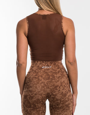 Echt Stealth Top - Lion Brown
