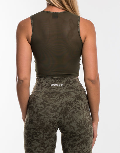 Echt Stealth Top - Army Green