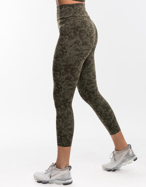 Echt Stealth Leggings - Army Green