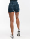 Echt Stealth Scrunch Shorts - Stargaze Blue