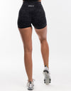 Echt Stealth Scrunch Shorts - Black