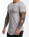 Echt Storm T-Shirt - Heather Grey