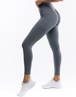 Echt Force Scrunch Leggings - Gun Metal