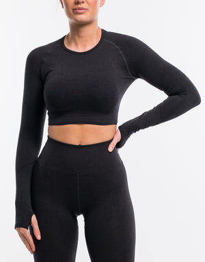 Arise Surge Long Sleeve - Black