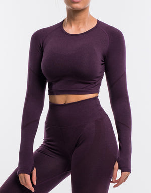 Arise Surge Long Sleeve - Plum