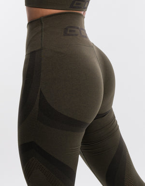 Arise Surge Leggings - Olive