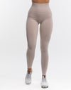 Arise Key Leggings - Nude Creme