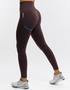 Arise Key Leggings - Maple Leaf