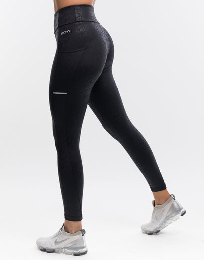 Wild Pocket Leggings - Black