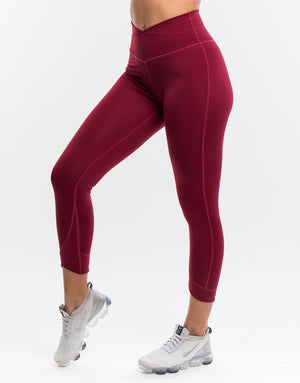 Echt Flex Leggings - Deep Red